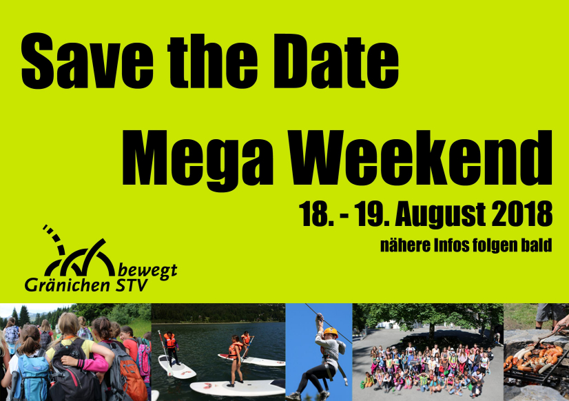 SaveTheDate Megaweekend2018